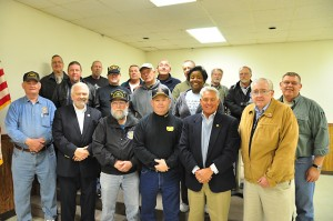 Veterans from around the State gathered to discuss the Delaware Veterans Coalition.