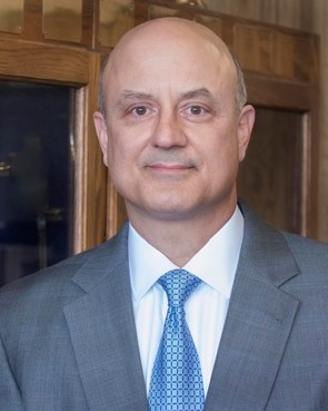 Wesley College President Robert E. Clark II