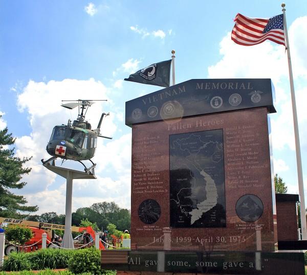 The Wall That Heals at The Kent County Veterans Memorial Park, Delaware