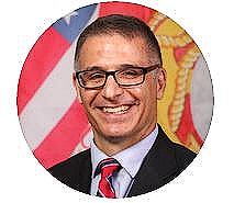 Patrick Gallucci, Commandant of First State Military Academy in Clayton, Del