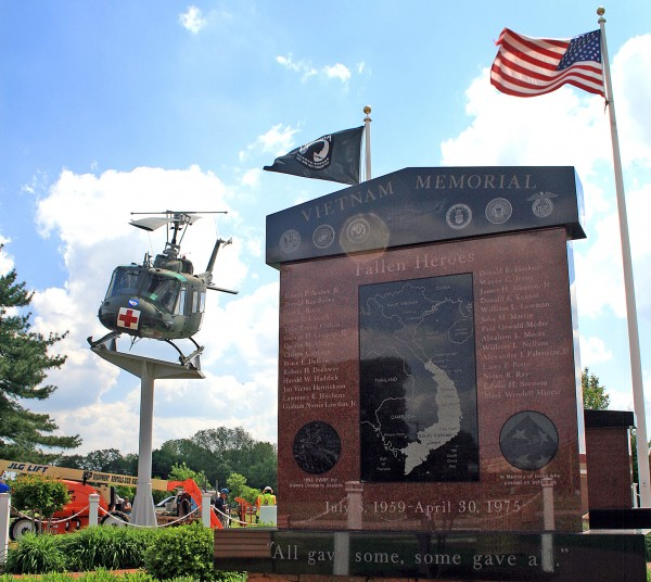 The Wall That Heals at The Kent County Veterans Memorial Park, Delaware