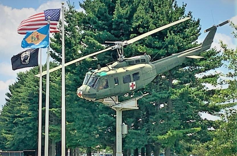 "UH1 ""Huey"" at Dover Veterans Memorial Park"